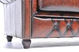 Chesterfield Origine 2-Places Antique Brun | Garantie de 12 ans_