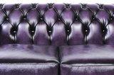 Chesterfield Original 5-places Antique Violet | Garantie de 12 ans_