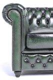 Chesterfield Origine 5-sièges Antique Vert | Garantie de 12 ans_