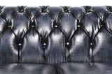 Chesterfield Origine 5-sièges Antique Bleu | Garantie de 12 ans_