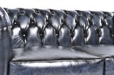 Chesterfield Original 6-places Antique Bleu | Garantie de 12 ans_