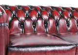 Chesterfield Origine 5-sièges Antique Rouge | Garantie de 12 ans_