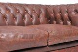 Chesterfield Vintage 2-sièges Brun | Garantie de 12 ans_
