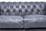 Chesterfield Vintage 2-sièges Noir | Garantie de 12 ans_