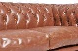 Chesterfield Vintage 2-sièges Mocha | Garantie de 12 ans_
