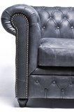 Chesterfield Vintage 3-sièges Noir | Garantie de 12 ans_