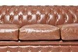 Chesterfield Vintage 3-places Canapé Mocha | Garantie de 12 ans_
