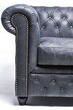 Chesterfield Vintage 6-sièges Noir | Garantie de 12 ans_