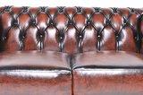 Chesterfield Original 6-places Antique Brun | Garantie de 12 ans_