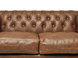 Chesterfield Canapé 4-places Vintage Alabama C1059 | Garantie de 12 ans_