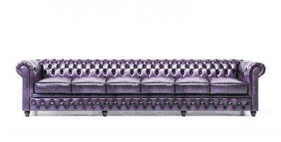 Chesterfield Origine 6-sièges Antique Violet | Garantie de 12 ans