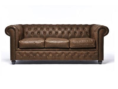 Chesterfield Vintage C0869 3-sièges | Garantie de 12 ans